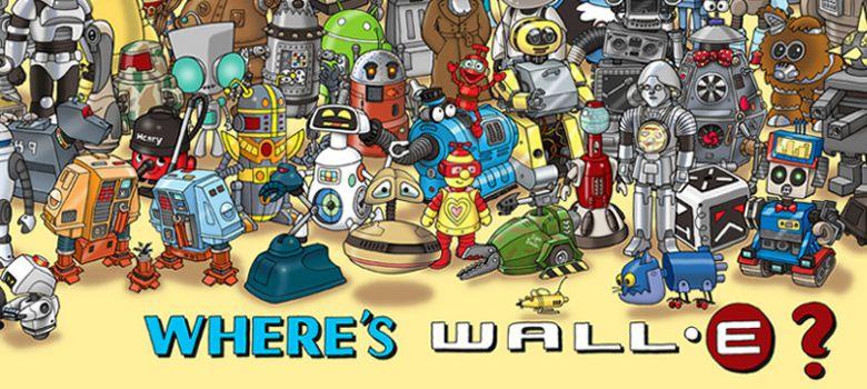 Найди Валли!
