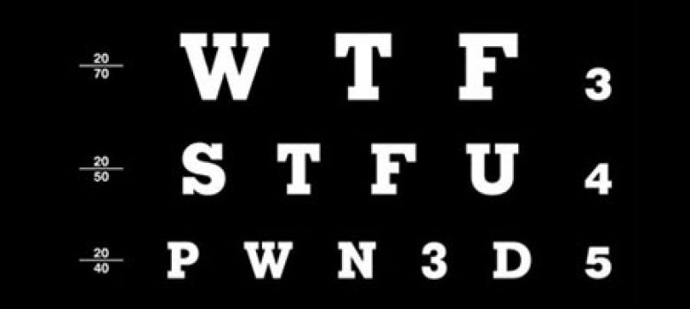Альтернативный алфавит английских символов