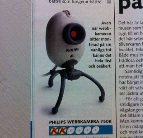 Веб-камера - турель из Portal
